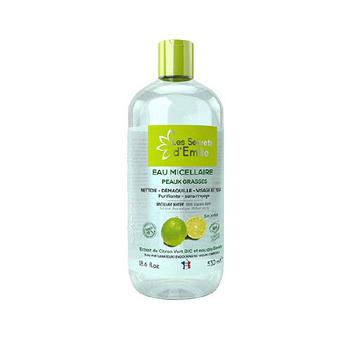 Agua micelar pieles grasas