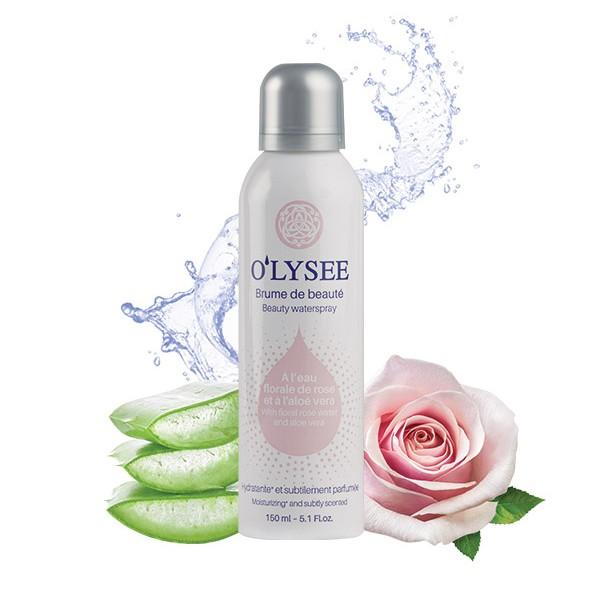 Bruma de belleza de agua de rosas 150ml